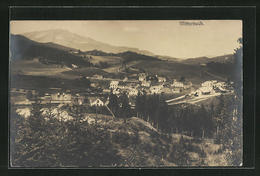 AK Mitterbach, Ortsansicht Von Anhöhe Aus Mit Landschaft Und Berg - Unclassified