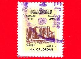 GIORDANIA - Usato - 1998 (1997) - Architettura Trionfale - Arco Di Trionfo Di Adriano, Jerash - 500 - Giordania