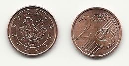 2 Cent, 2017, Prägestätte (A Vz, Sehr Gut Erhaltene Umlaufmünze - Germania