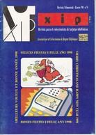 REVISTA XIP Nº4  FELICES FIESTAS Y FELIZ AÑO 1998 - Phonecards