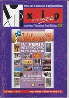 REVISTA XIP Nº11  DEL MES DE OCTUBRE DEL AÑO 1999 - Tarjetas Telefónicas