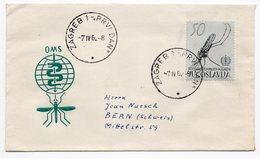 YUGOSLAVIA, FDC, 07.04.1962. COMMEMORATIVE ISSUE: MALARIA INTERNATIONAL DAY, USED - FDC