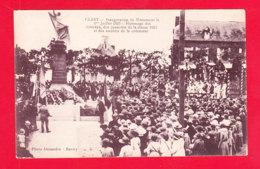 F-59-Clary-01Ph96  Inauguration Du Monument Juillet 1923, Hommage Des Vétérans, Animation, Cpa BE - Altri Comuni