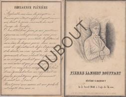 Doodsprentje Pierre Lambert Rouffart °1772 †1846 Bierset Echtg. M-G Lacroix  (G126) - Décès