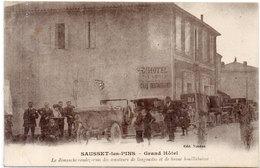 SAUSSET LES PINS - Grand Hotel - Autos - Le Dimanche Rendez Vous Des Amateurs De Langouste...    (235 ASO) - Salon De Provence