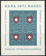Bloc 21 Neuf** - Naba 1971 Basel - Nuevos