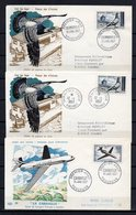 FRANCE - FR1324 - 85 FDC-CP - 1957 - Année Complète - FC - FDC