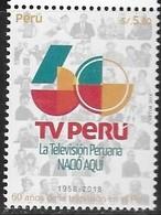 PERU, 2018, MNH,TV, ACTORS,1v - Art