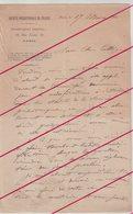 PREHISTOIRE : 6 LAS . D'Emile Rivière à Son So Collègue Et Ami Mr TATE . 1906/14 . - Documentos Históricos