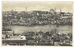 3 Cpa Turquie - Constantinople - Corne D'Or / Pont De Gallata - Turquie