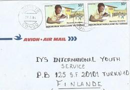 Congo 1984 Loutete School Child Education Cover - Congo - Brazzaville