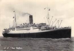 """"""" S.S. NEA HELLAS """"  - PAQUEBOT Liner Cruise - CPSM Grand Format 1948 - Ship Kreuzfahrtschiff Cruiseschip - Steamers"""