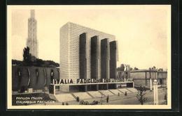 AK Bruxelles, Exposition 1935, Pavillon Italien - Exposiciones