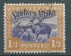 Afrique Du Sud Ouest   - Yvert N° 121 Oblitéré - Bce 18216 - Südwestafrika (1923-1990)