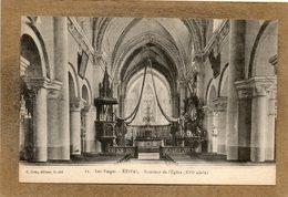 CPA - ETIVAL (88) - Aspect De L'intérieur De L'Eglise Dans Les Années 20 - Etival Clairefontaine