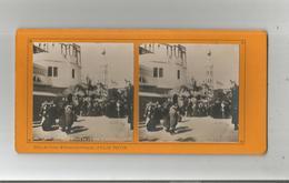PARIS (75) EXPO 1900 PHOTO STEREOSCOPIQUE  80 ENTREE DE LA RUE D'ALGER (COLLECTION FELIX POTIN) - Photos Stéréoscopiques