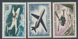 CR-85: FRANCE: Lot Avec PA** N°35/37 - 1927-1959 Mint/hinged