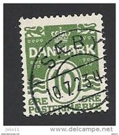 Dänemark 1921, Mi.-Nr. 120, Gestempelt - 1913-47 (Christian X)