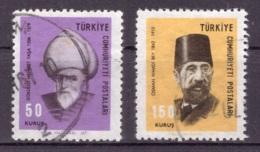 Turquie 1967 - Oblitéré - Célébrités - Michel Nr. 2055 2057 (tur462) - 1921-... République