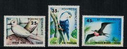Polynésie Française // 1980 //  20ème Anniversaire De L'autonomie Timbres Neufs** MNH Y&T No.156-158 - Polynésie Française