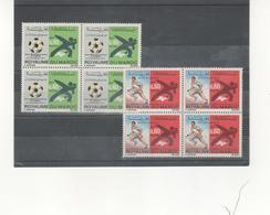 Marruecos Independiente 625/26 Juegos Mediterráneos De Izmir  Bloque De Cuatro  Sellos Nuevos Sin Fijasellos Según Foto - Marruecos (1956-...)