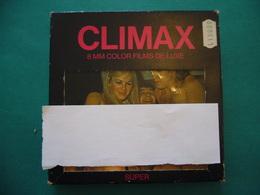 CLIMAX   ORIGINALE FILMINO EROTICO SUPER 8 A COLORI  MADE BY LICENCE IN GERMANY - Altri