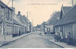59    .    N° 203306          .             GHYVELDE          .                ROUTE D HONDSCHOOTE - Autres Communes