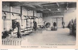 62 . N° 100235 . Lambres . Usines . Embidonnage De Vernis . Pas Courante - France