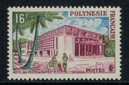 Polynésie Française // 1960 //  Hôtel Des Postes De Papete, Timbre Neuf** MNH Y&T No.14 - Polynésie Française