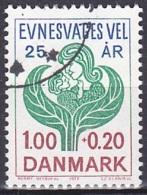 Denmark/1977 - Society Of Mentally Handicapped/Landsforeningen Evnesvages Vel - 1.00 + 0.20 Kr - USED - Used Stamps
