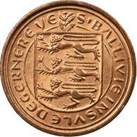 Monnaie, Jersey, Elizabeth II, 1/2 New Penny, 1971, TB+, Bronze, KM:29 - Jersey