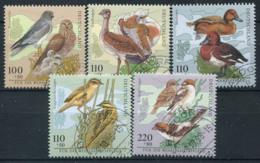 Germania Bund 1998 Mi. 2015-2019 Usato 100% Uccelli - Usati