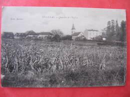 CPA - TILLENAY - QUARTIER DE L'EGLISE - France
