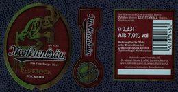 Autriche Lot 3 Etiquettes Bière Beer Labels Mohrenbräu Festbock - Bière