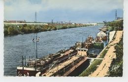 SAINT OUEN - Le Quai De La Seine, Le Fleuve Et, à Gauche, L'Ile Saint Denis - Saint Ouen