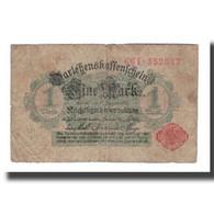 Billet, Allemagne, 1 Mark, 1914, 1914-08-12, KM:51, B - [ 2] 1871-1918 : Impero Tedesco