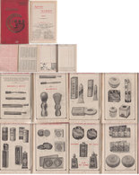 Agenda Gibbs Savons Parfums 1927 - Profumi & Bellezza