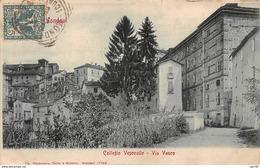 Italie. N° 100448 . Mondovi . Collegio Vescouile . Via Vasco - Cuneo