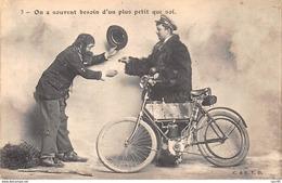 MOTO .n°54483.on A Souvent Besoin D'un Plus Petit Que Soi. - Motorbikes