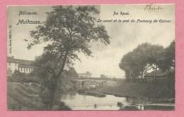 68 - MÜLHAUSEN - MULHOUSE - Nels Série 305 N° 13 - Le Canal Et Le Pont Du Faubourg De Colmar - Mulhouse