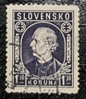 Timbre Slovaquie Andrej Hlinka II 1939 Sc 69 - Used Stamps