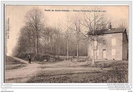 02.FORET DE SAINT-GOBAIN.MAISON FORESTIERE, ROUTE DE LAON. - France