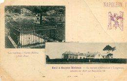 Napoléon 1er Exil à SAINTE HELENE Son Tombeau Sa Maison D'habitation à LONGWOOD Achetée Par Napoléon III - Sant'Elena