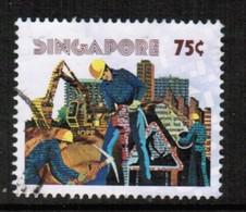 SINGAPORE  Scott # 278 VF USED (Stamp Scan # 492) - Singapore (1959-...)