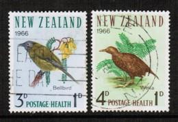 NEW ZEALAND  Scott # B 71-2 VF USED (Stamp Scan # 492) - New Zealand