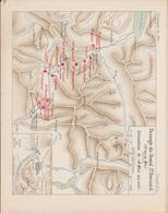 2 Bonaparte 1800 Plan Passage Du Grand St Bernard - Documents Historiques