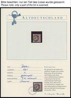 SAMMLUNGEN,LOTS O,**,* , Altdeutschlandsammlung Baden - Helgoland Im Sauberen Borek Spezialalbum Mit Vielen Guten Werten - Germany