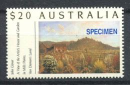 Australia 1990 Mi. 1222 Nuovo ** 100% SPECIMEN, Giardino, Dipinti - 1990-99 Elizabeth II