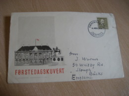 KOBENHAVN 1946 ? To Bucks England FDC Cancel Cover DENMARK - 1913-47 (Christian X)