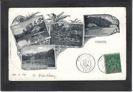 CPA Tahiti Océanie Polynésie Française  Circulé Royalty - Tahiti